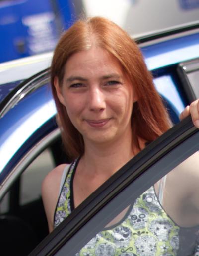 Fahrlehrerin Jasmin Pielmeier