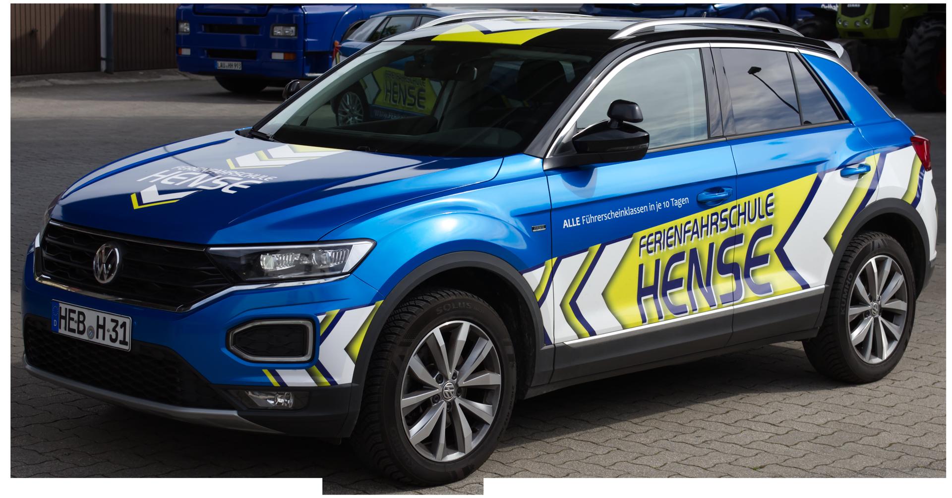 Unsere Fahrschulautos VW T-Roc